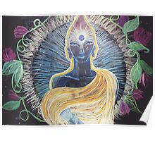 Chalk Meditation #2 • March 2004 Poster