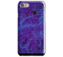 USGS TOPO Map California CA Sly Park 300539 1952 24000 geo Inverted iPhone Case/Skin