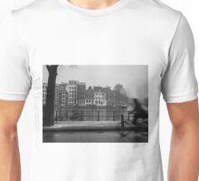 Amsterdam, bike motion Unisex T-Shirt
