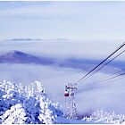 Tram on the Clouds on Cannon Mountain by Wayne King