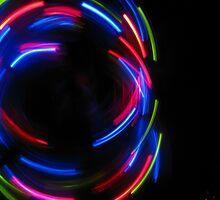 Spinning Laser Light Mark Pattern by Elaine Farmer