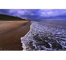 Marske on Sea, North Yorkshire, England, 24 October 2014 Photographic Print