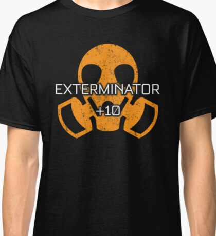 Rocket Leaugue Video Game Exterminator +10 Funny Gifts Classic T-Shirt