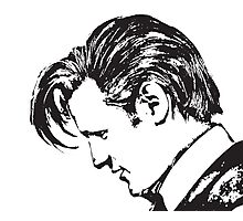 Matt Smith as The Doctor Photographic Print