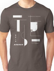 House Music Abstract Graphic Design Art Unisex T-Shirt