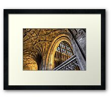 Golden Arch Framed Print