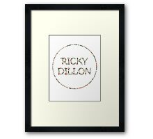Ricky Flowers Framed Print