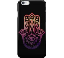 Sunset Fatima Hand Hamsa iPhone Case/Skin