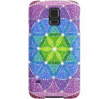 Sunny Flower of Life Samsung Galaxy Case/Skin