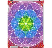 Sunny Flower of Life iPad Case/Skin