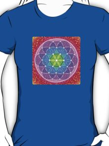 Sunny Flower of Life T-Shirt