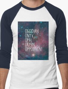 The Lux Series - Galaxy Men's Baseball ¾ T-Shirt