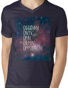 The Lux Series - Galaxy Mens V-Neck T-Shirt