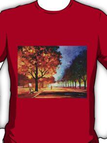 FLAMING NIGHT - Leonid Afremov T-Shirt