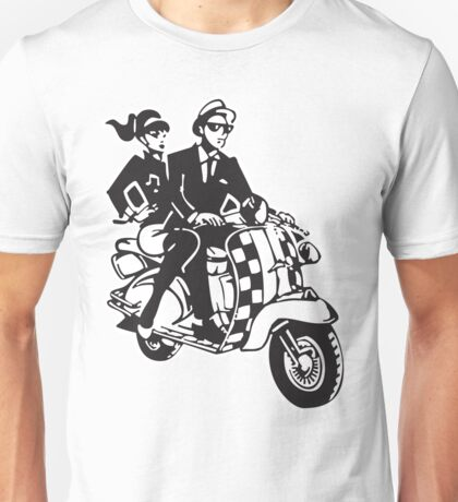 2Tone Scooter Unisex T-Shirt