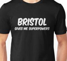 Bristol Funny Superpowers T-shirt Unisex T-Shirt