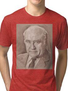 Ed Asner, Actor Tri-blend T-Shirt