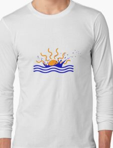 Sunset Splash Long Sleeve T-Shirt