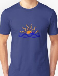 Sunset Splash Unisex T-Shirt