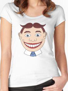 Tillie Face Asbury Park NJ Women's Fitted Scoop T-Shirt