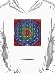 Rainbow Flower of Life T-Shirt