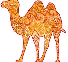 Camel in Warm Colours by zaaranjali