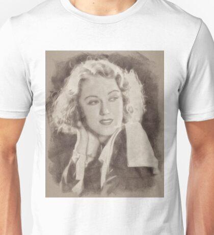 Fay Wray Hollywood Vintage Actress Unisex T-Shirt