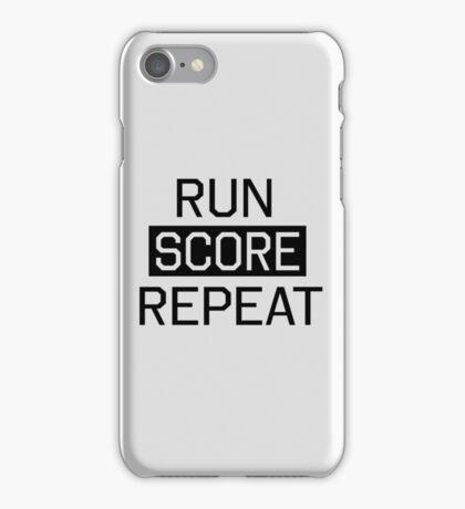 Run Score Repeat iPhone Case/Skin