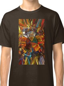 Psychedelic Stained Glass Classic T-Shirt