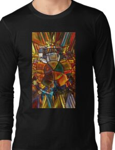 Psychedelic Stained Glass Long Sleeve T-Shirt