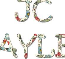 Jc Flowers Sticker