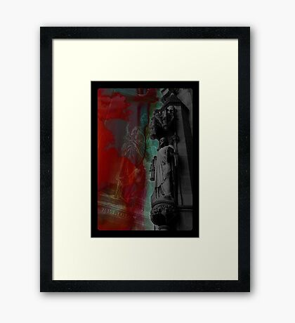 Religion Tarot Framed Print