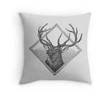 Oh Deer! Throw Pillow