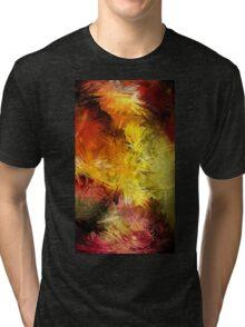 Lines Creative Bright Colors Tri-blend T-Shirt