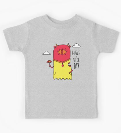 Have a Nice Day Illustration Kids Clothes