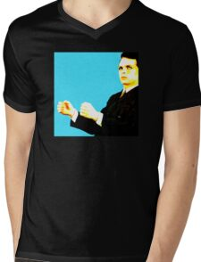 Gary Numan Cars Artwork Mens V-Neck T-Shirt