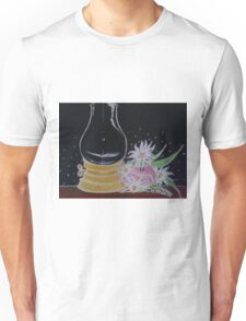 Lamp and Flowers Unisex T-Shirt