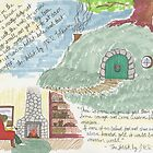 Study of a Hobbit Hole by Hannah  Mills