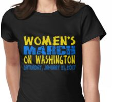 Women's March on Washington Collection Womens Fitted T-Shirt