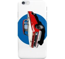 1966 Ford F100 Red & White - iPhone Case iPhone Case/Skin