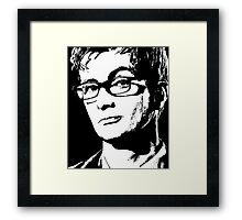 David Tennant: 10th Doctor Framed Print