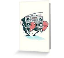 Boombox(ing) Greeting Card