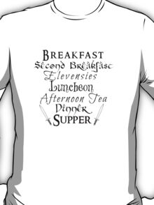 Second Breakfast Lord of the Rings T-Shirt
