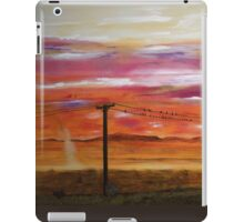 Birds On A Wire iPad Case/Skin
