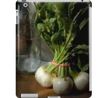 Still Life with Turnips iPad Case/Skin