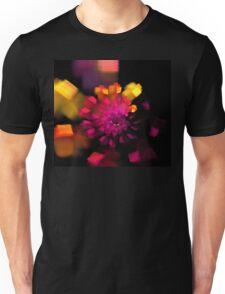 Magenta Box Spiral Unisex T-Shirt
