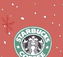 Starbucks Latte Sticker