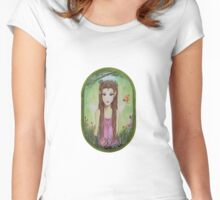 AUTUMN FAIRY Women's Fitted Scoop T-Shirt