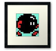 8 Bit OG Bomb Framed Print
