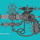 SMART GUNS: MODEL ZAP GUN-HX3 by NhoraNars